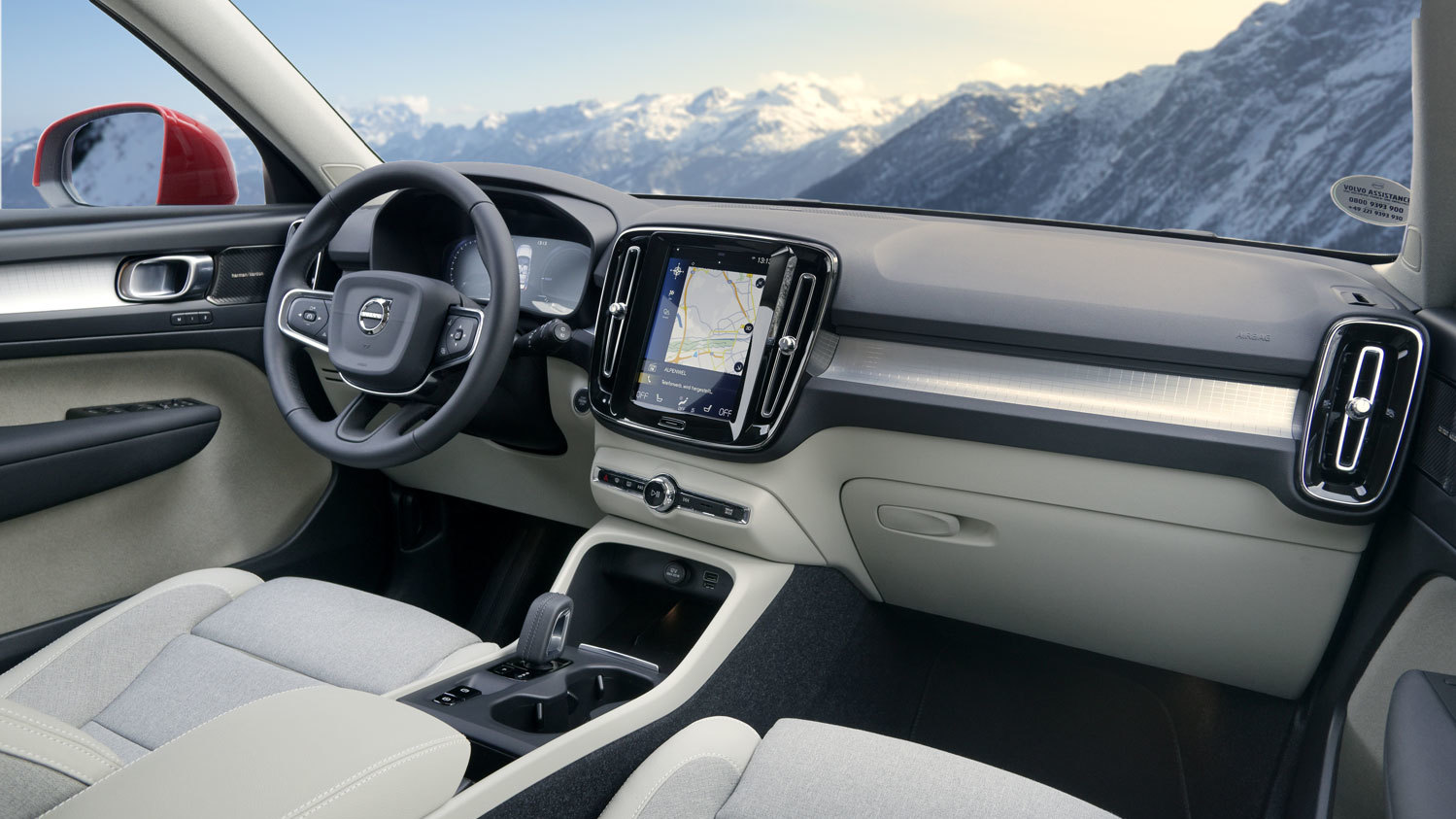 Testfahrt Volvo XC40 - handelsjournal